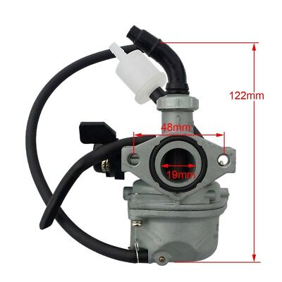 19mm Carburetor for 50cc 70cc 90cc 110cc Mini Dirt bike ATV Quad GO KART TAOTAO