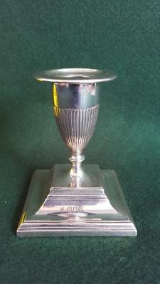 Wonderful Antique H/M Sterling Silver Adams Style Candlestick Ldn 1911