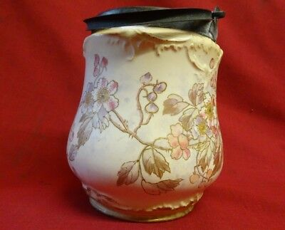 Antique Royal BONN Germany Pottery Franz Anton Mehlem Jar
