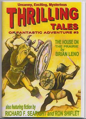 055 THRILLING TALES #3 Rainfall chapbook. Pulp fiction. Action & adventure