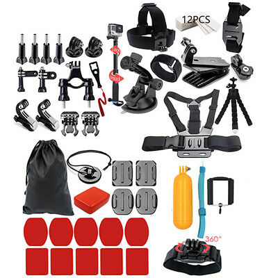 44in1 Action Camera Accessories Kit for Xiaomi SJ6000 SJ7000 EKEN H9R H8W S8Y6