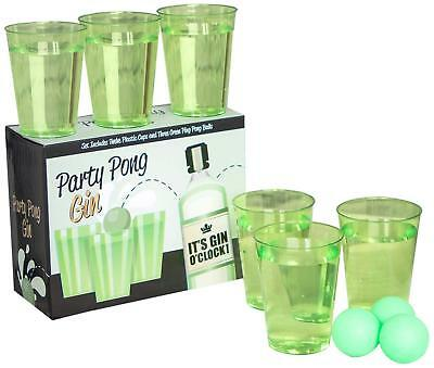 Adults Party Pong Gin O Clock Drinking Game Party Fun Christmas Stag Hen Nights