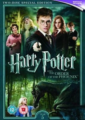 Harry Potter And The Order Of The Phoenix Dvd [Uk] New Dvd