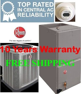 3 TON 14SEER Rheem Heat Pump System Condensing Unit / Air