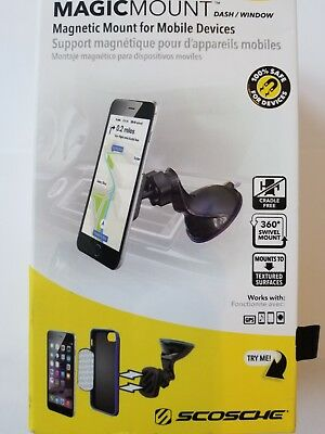 Scosche Magic Mount Dash/ Window Magnetic Mount for Mobile Devices