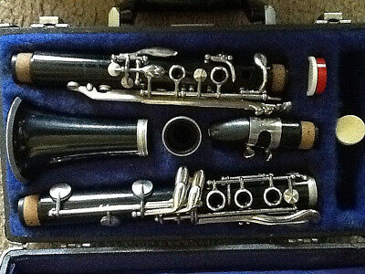 Vintage Leblanc Clarinet W/Case Rosetone USA Normandy by Hartmann Serial # 8762C