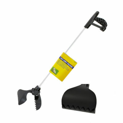 Long Handle Dog Pet Pooper Scooper Poop Scoop Clean Pick Up Animal Waste