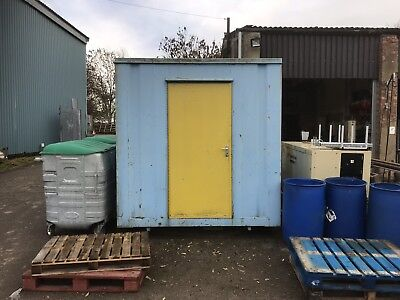 Site Office Container Portable Steel Building Anti Vandal 12x8