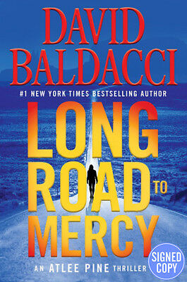 *SIGNED/AUTOGRAPHED* Long Road to Mercy by David Baldacci - HC - BRAND NEW!