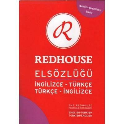 The Redhouse Portable English-Turkish & Turkish-English - Paperback NEW Redhouse