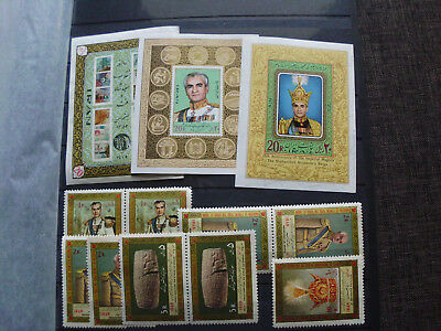 Persia/Persien/Perse/Persian/Middle East LOT 4,Mint Never Hinged,alle Postfrisch