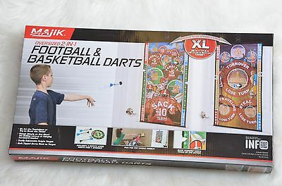Majik 2-in-1 Football And Basketball Darts