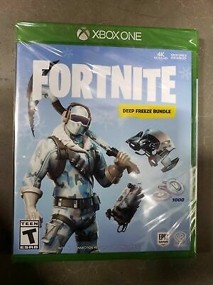 Fortnite: Deep Freeze Bundle [Microsoft Xbox ONE Frostbite Outfit 1000 V-Bucks]