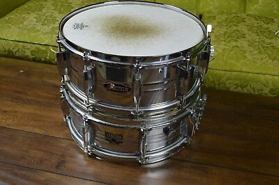 1970s Yamaha snare drum 1960s Pearl snare drum Lot of 2 Vintage Yamaha drum