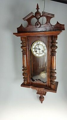 Antique Striking Vienna Wall Clock For Spares
