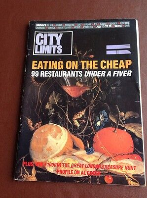 City Limits Magazine - July 1984 - EATING ON THE CHEAP