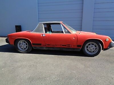 1975 Porsche 914  1975 Porsche 914 1.8 Copper Metallic 5 Mahle Wheels European Spec Appearance Pac