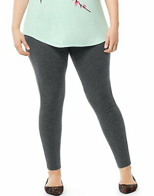 ab203d50b5c Just My Size Stretch Cotton Jersey Leggings Pants Womens Plus Size Classic  1X-5X