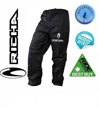 Richa Rain Warrior Motorcycle Over Trousers Waterproof Motorbike Bike Pants