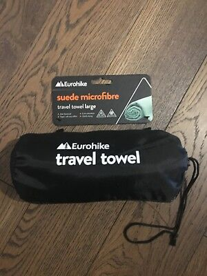 New Eurohike Suede Microfibre Travel Towel Large