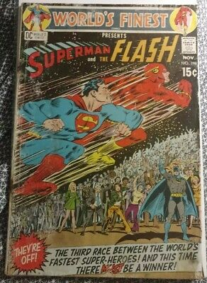DC Comics : World's Finest Presents Superman and the Flash #198 1970