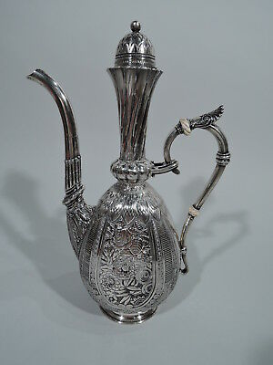 Gorham Coffeepot - B58 - Antique Turkish Exotic - American Sterling Silver