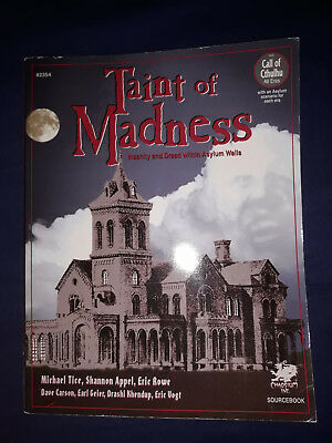 Chaosium Call of Cthulhu Taint of Madness (Insanity & Dread within Asylum Walls)