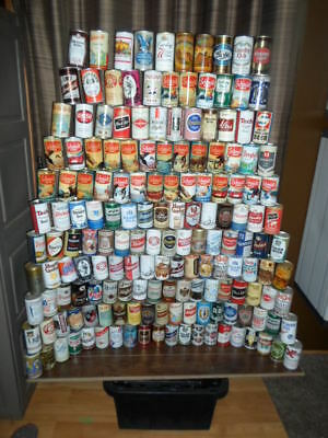 Qty=[228]  1950`s`-80`s Vintage Beer Can Collection -[Read Description / Ship]-