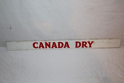 """Vintage 1950's Canada Dry Soda Pop Gas Station 25"""" Metal Sign"""