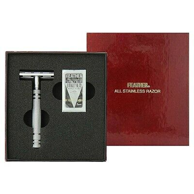 Feather All Stainless Razor (AS-D2) NEW BOX [Free USA Shipping]