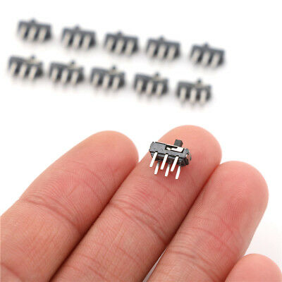 10pcs MSS-22D18 DPDT 6 Pin Toggle Vertical Mini Slide Type DIP Switch QXJ