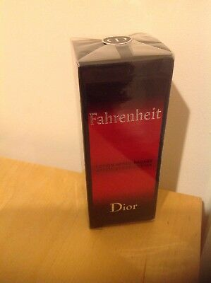 856015ab09 CHRISTIAN DIOR FAHRENHEIT After Shave Lotion 100ml New Sealed