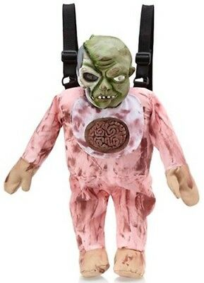 NEW Zombie Baby Brains Backpack Bag by Leg Avenue - Punk Gothic Halloween NWT