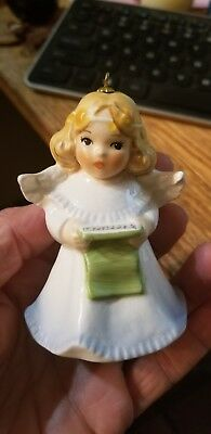 1988 3rd Goebel ANNUAL ANGEL BELL ORNAMENT Charlot Byj Christmas Pageant Germany