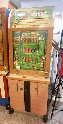 Bally Skill Derby Horse Racing Coin Operated Penny Arcade
