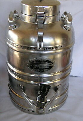 Vacuum Can Company Stainless Steel 3 Gallon Vacuum Jug
