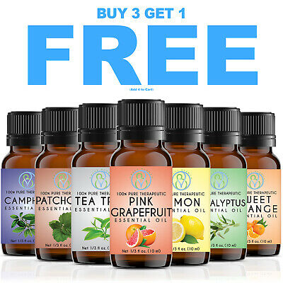 Best Quality Essential Oils 10ml LOT / SET -100% Pure & Natural For Aromatherapy