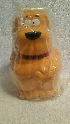 1991 Quaker Oats Snausages Collectible Container Plastic Snack Jar Promotional
