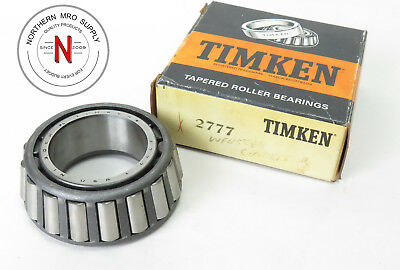 """Timken 2777 Tapered Roller Bearing Cone, Id: 1.500"""", Width: 1.010"""""""