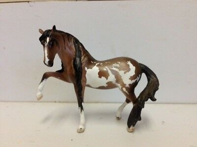 "CM Custom Breyer Arab Stablemate ""Dark Bay Pinto' Mare  by Janice Flynn!!!"