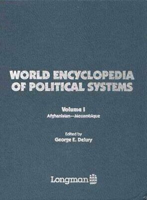 World Encyclopaedia of Political Systems Hardback Book The Cheap Fast Free Post