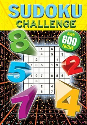 Sudoku Challenge: Over 600 Puzzles Book The Cheap Fast Free Post