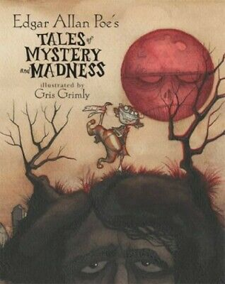 Tales of Mystery and Madness by Poe, Edgar Allan Hardback Book The Cheap Fast