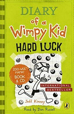 Diary of a Wimpy Kid: Hard Luck book & CD by Kinney, Jeff Book The Cheap Fast