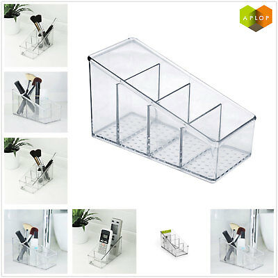 Aplop Plastic Desk Organizer Desktop Office Pen Pencil Holder Makeup Storage