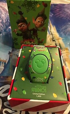 Disney Hollywood Studios Jingle Bell Bam Magicband Magic Band LE 1000 New