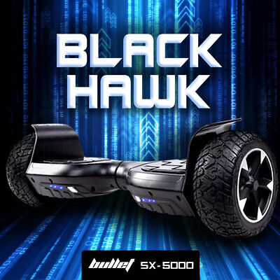 BULLET Hover Board Scooter Off Road Balancing Electric All Terrain Skateboard