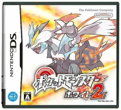 Used Pokemon Black and White DS Game - Pokemon White Version 2 Japan