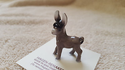 Hagen Renaker Baby Burro Figurine Miniature Collect Gift New Free Shipping 00021