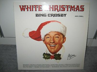 """LP Bing Crosby """"White Christmas"""" (MCA Coral Records)"""